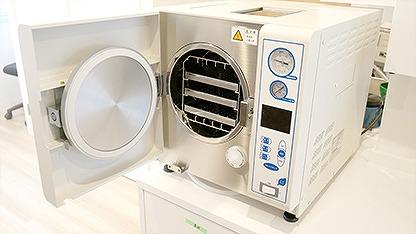 複雑な器具も滅菌できる最高レベルの滅菌器