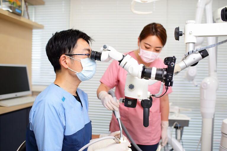 歯を抜かない治療~根管治療~