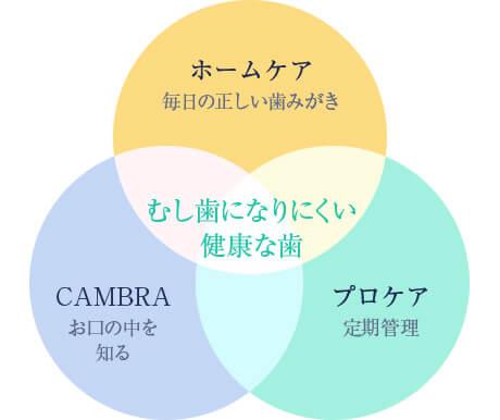 「治療」の前に「予防」を。 ~CAMBRAシステム~