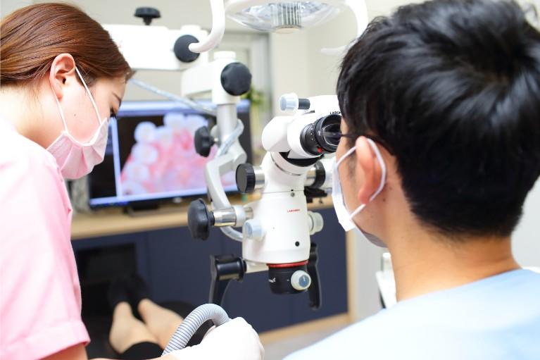 当院の得意分野である高精度の根管治療