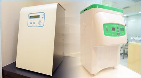 除菌された清潔な水の エピオスシステムとポセイドン