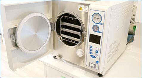 クラスB滅菌器で徹底した 衛生管理と感染予防を